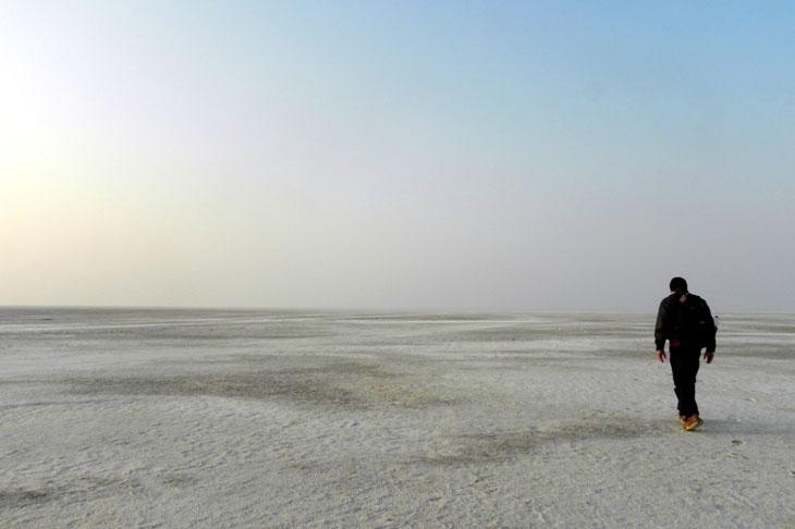Gujarat_GreatRann_LonelyWalk
