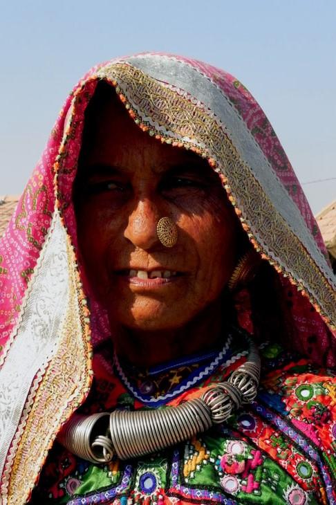 Gujarat_Nakhatarana_AhirMatriarch