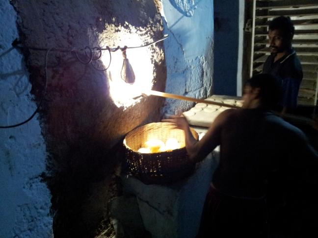 Traditional bakery at Aldona