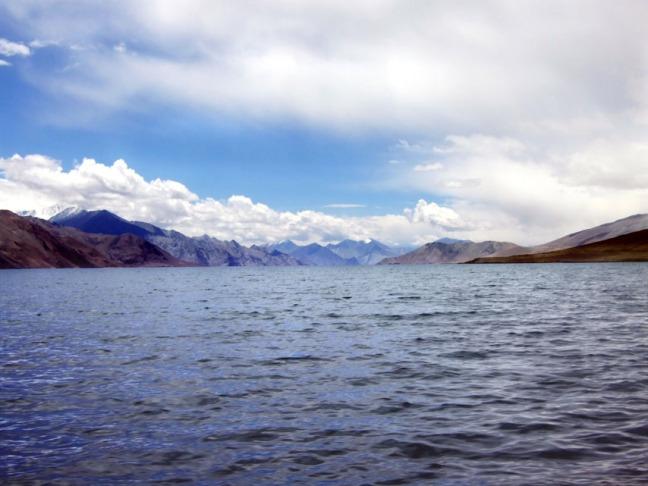 Leh - Pangong Tso view into China