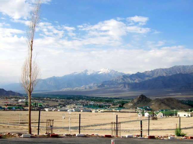 Leh - View from guesthouse