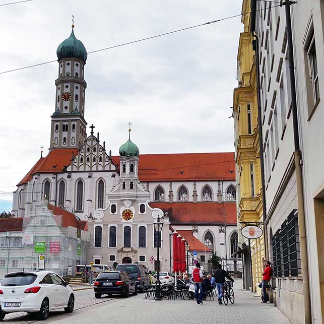 Augsburg - Church