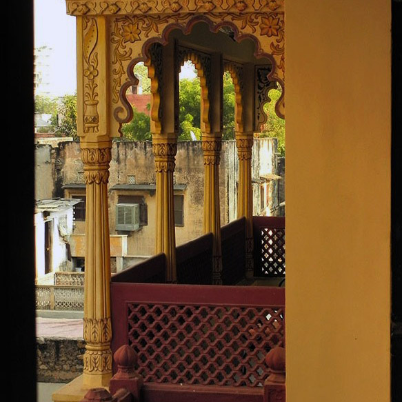 Jaipur - Hotel balcony