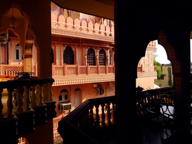 Jaipur - Hotel blacony 2