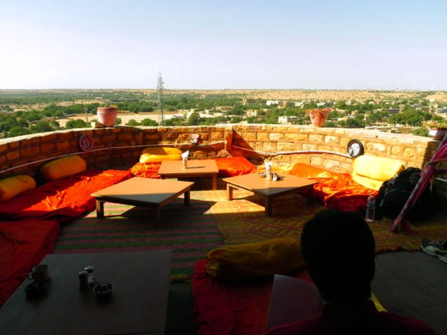 Jaisalmer - Fort top lounge