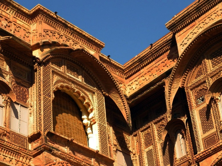 Jodhpur - Mahrangarh filigree windows 1