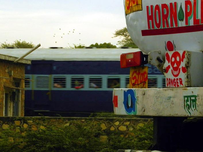 Jodhpur - Railway crossing