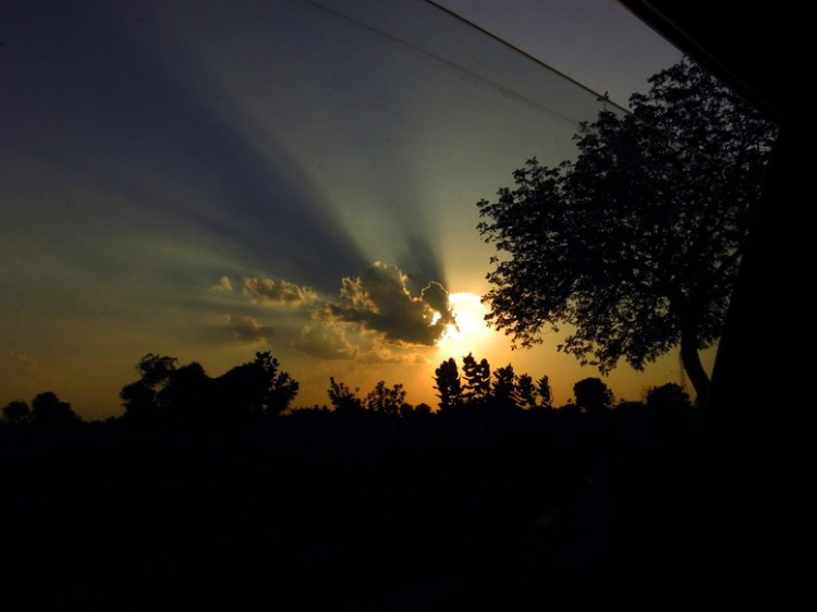 Jodhpur - Road Sunset