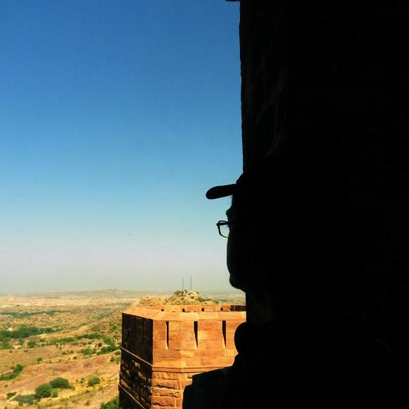 Mehrangarh - Looking west