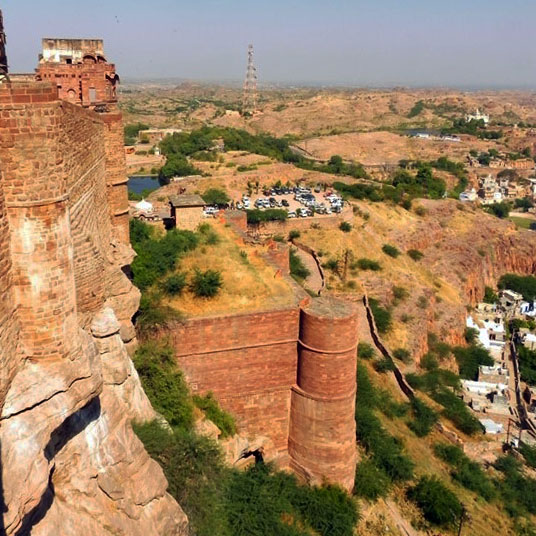 Mehrangarh - Outer fortifications
