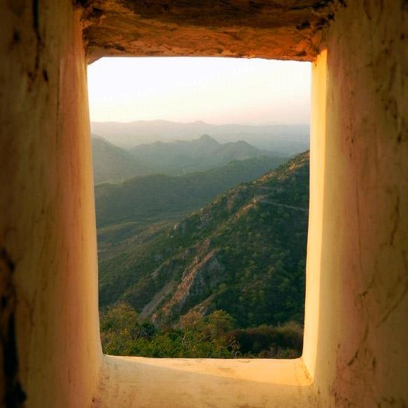 Udaipur - Sajjangarh hill view 2