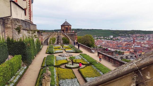 Wuerzburg - Castle garden 1