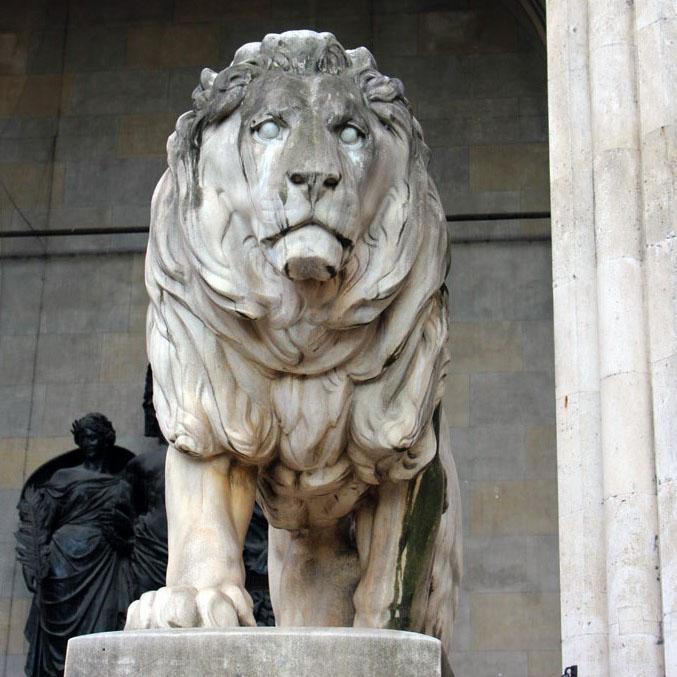 Munich - Lion at Feldherrnhalle
