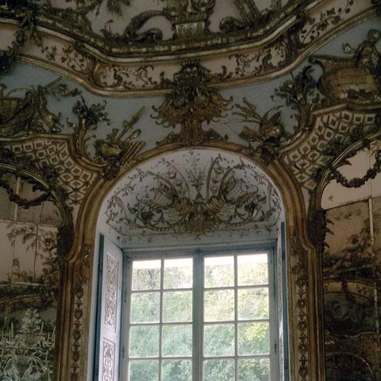 Munich - Nymphenburg baroque window