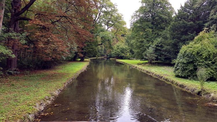 Munich - Nymphenburg canal