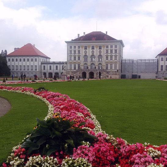 Munich - Nymphenburg flowerbed