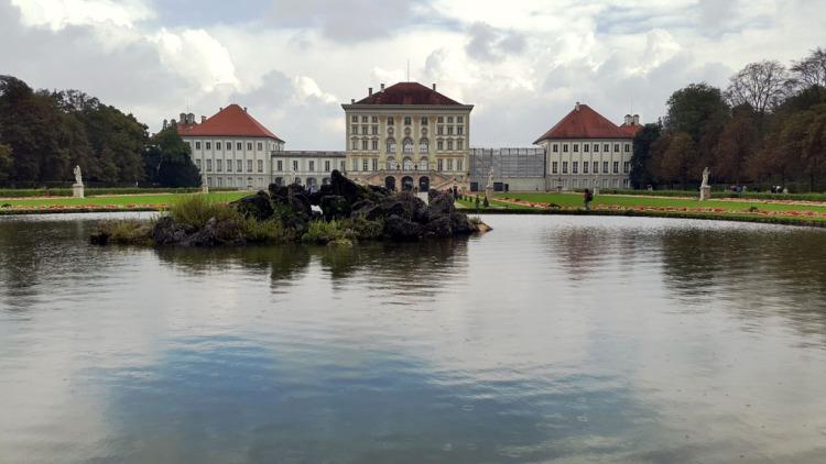 Munich - Nymphenburg lake