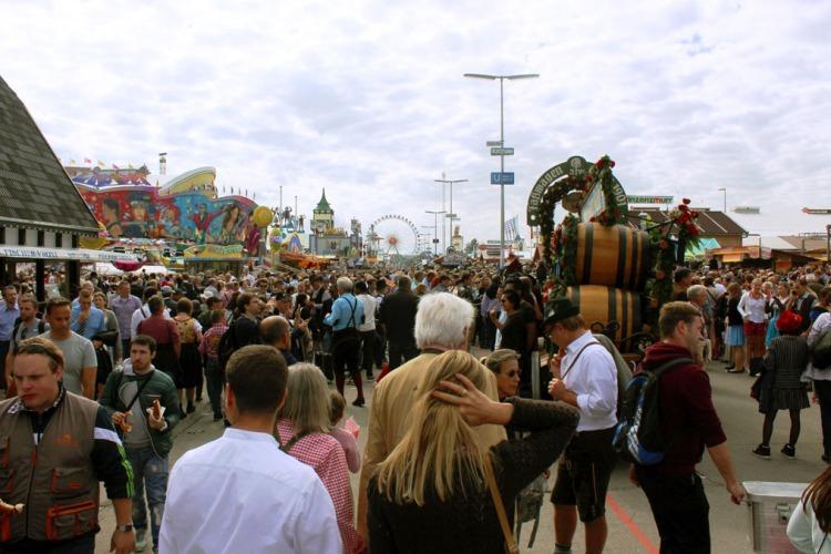 Munich - Okotberfest crowd