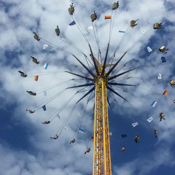 Munich - Okotberfest ride
