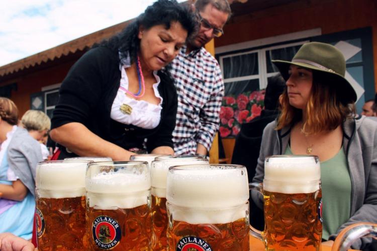 Munich - Okotberfest waitress
