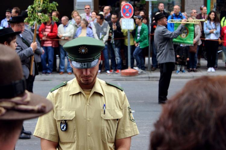 Munich - Parade policeman