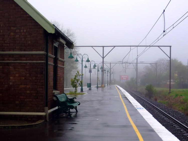Sydney - Blue mountains - Railway station