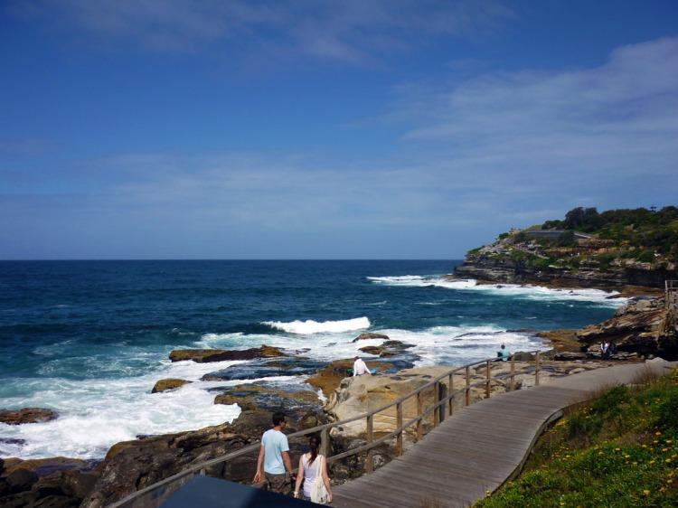 Sydney - Bondi sea walk