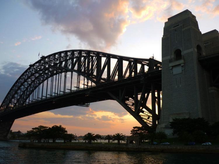 Sydney - Brigde sunset