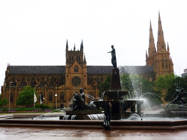 Sydney - St Marys fountain