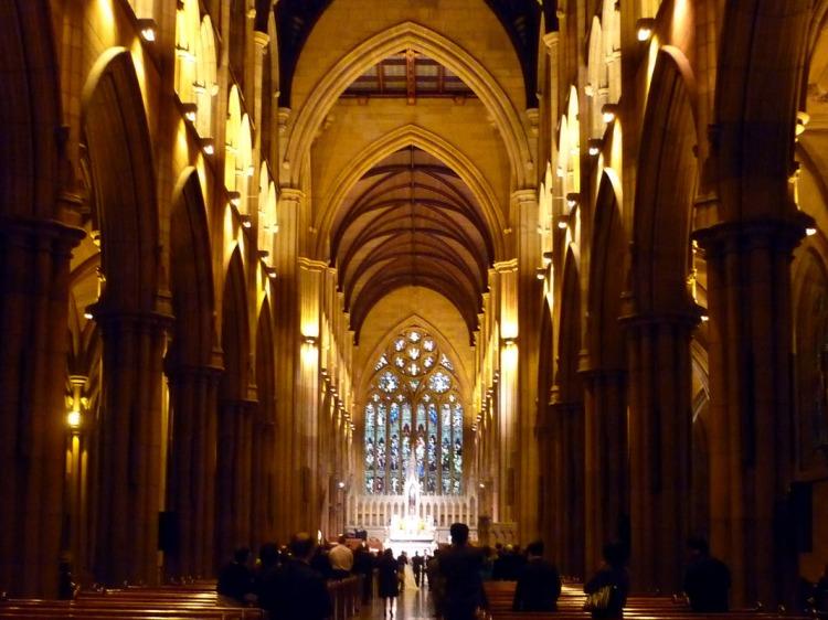 Sydney - St Marys interior