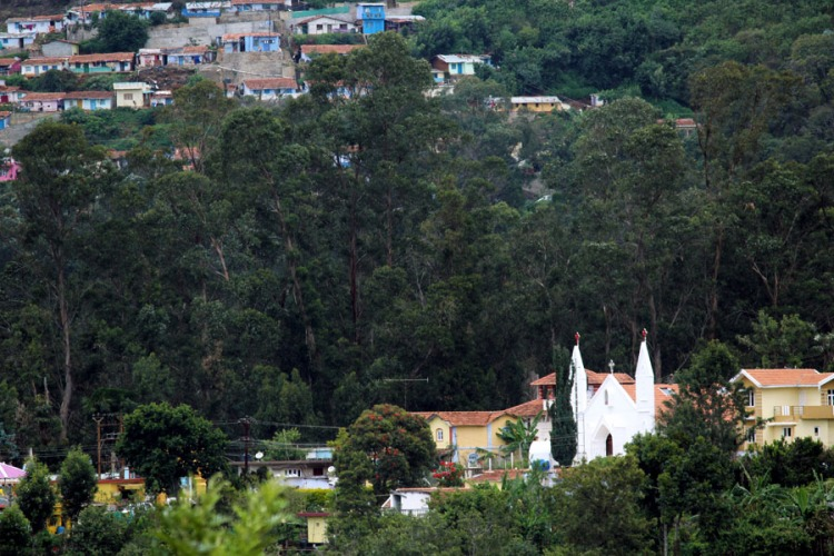 Coonoor - Hillside church
