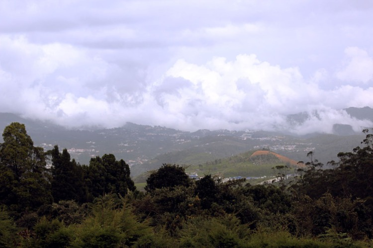 Coonoor - view from Doddabetta