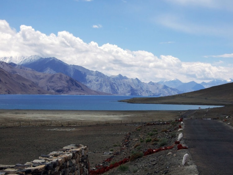 Pangong Tso lake in Ladakh, India