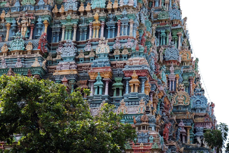 Madurai - North gopuram