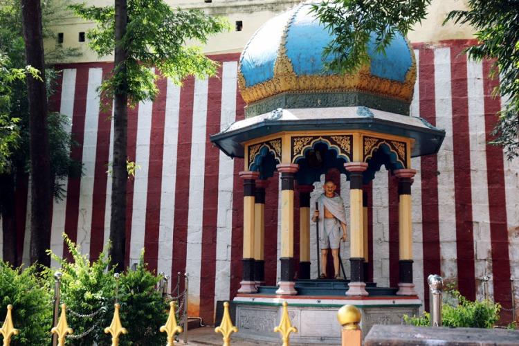 Madurai - Pudumandapa gandhi