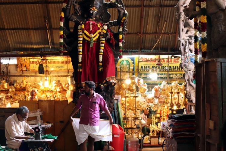 Madurai - Pudumandapa veshti