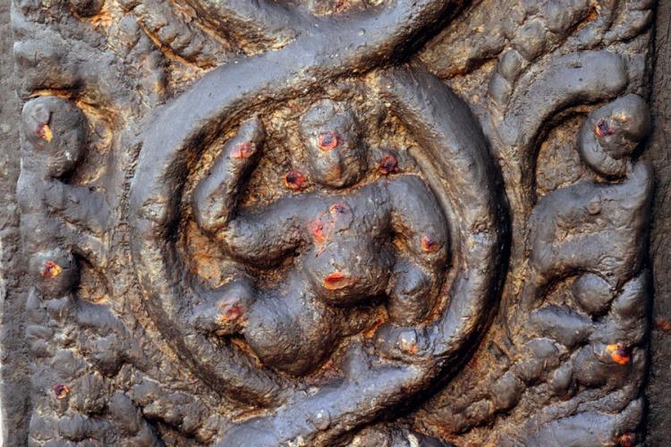 Madurai - Smooth pillar figure