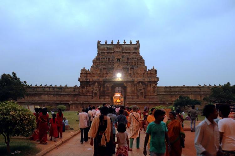 Thanjavur - inner gopuram