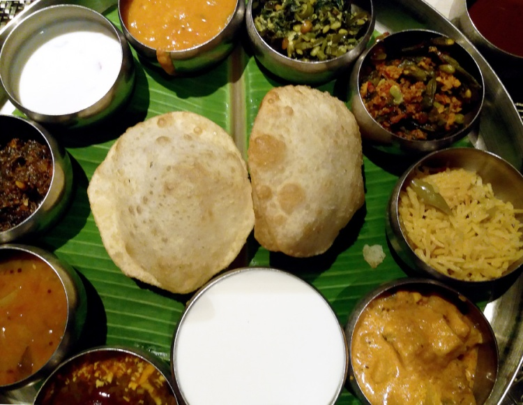Good restaurants for veg food - Spicy Venue thali