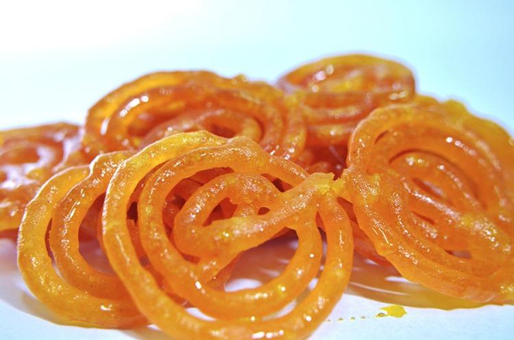 Jalebi, a popular Indian sweet - Gujarat