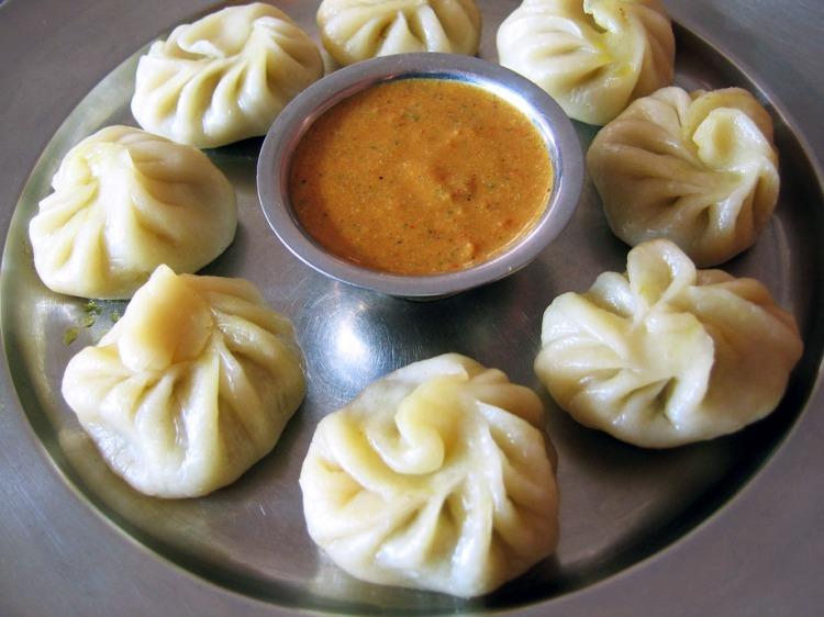 Momos - delicate filled dumplings - West Bengal