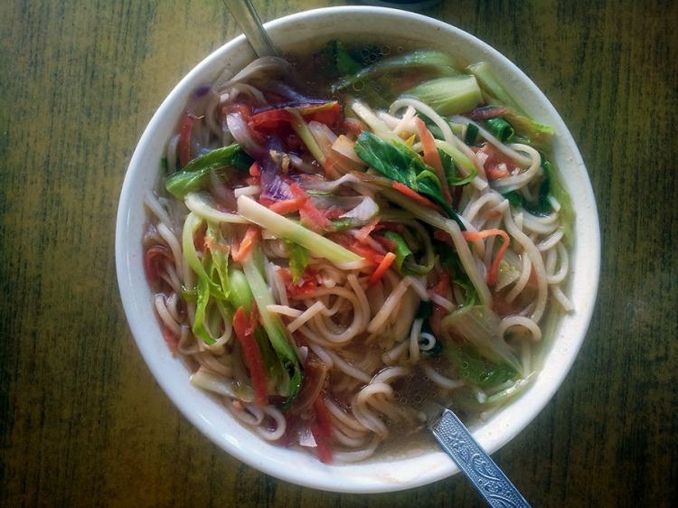 Thukpa - noodle and vegetable soup - Ladakh, Jammu and Kashmir